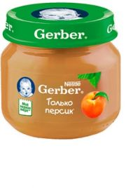 Гербер пюре 80г персик (GERBER PRODUCTS COMPANY)