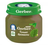 Гербер пюре 80г брокколи (GERBER PRODUCTS COMPANY)
