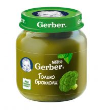 Гербер пюре 130г брокколи (GERBER PRODUCTS COMPANY)