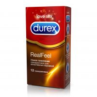 Презерватив durex №12 real feel (SSL INTERNATIONAL PLC.)