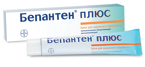 Бепантен плюс 5% 100г крем д/пр.наружн. №1 туба (BAYER CONSUMER CARE AG)