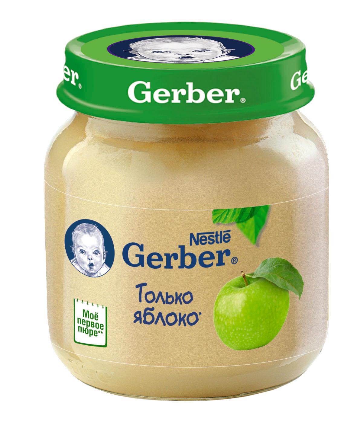 Гербер пюре 130г яблоко (GERBER PRODUCTS COMPANY)