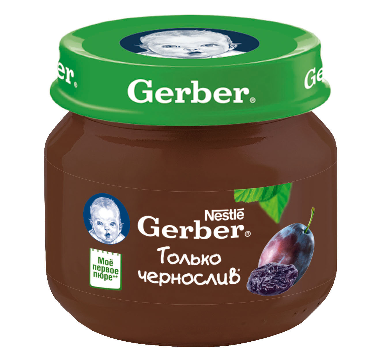 Гербер пюре 80г чернослив (GERBER PRODUCTS COMPANY)