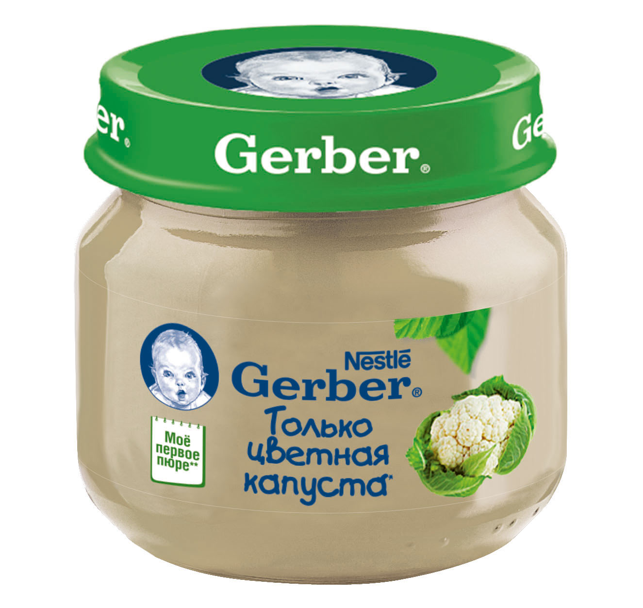 Гербер пюре 80г цв.капуста (GERBER PRODUCTS COMPANY)